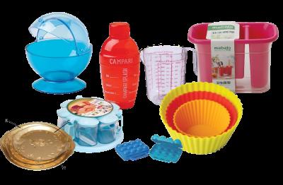 plastic kitchen wares