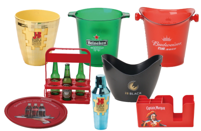 Plastic housewares and promotion items