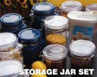 Plastic Housewares - Storage Jars